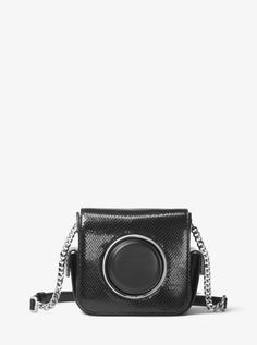 8427903c0d637c Michael Kors Scout Large Molded Calf Leather Camera Bag Crossbody Iris  Purple for sale online | eBay