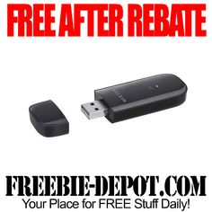 FREE AFTER REBATE - Belkin Wireless Adapter - FREE Wifi Network USB Connection with CD  Exp 3/18/15  #freebate
