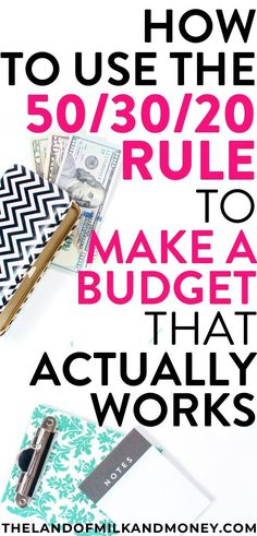 How To Make A Budget Plan? Why The Rule Is What You Need I'm still working on my financial literacy so had NO idea how to budget, meaning the rule saved my life! This is the perfect budget plan for beginners to personal finance like me to Budgeting Finances, Budgeting Tips, Monthly Expenses, Making A Budget, Making Ideas, Budget Help, Monthly Budget Template, Budget Templates, Budget Spreadsheet