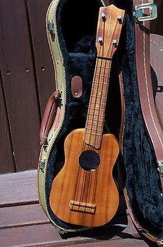 Vintage 1970s Kamaka Koa Soprano Uke White Label Ukulele Hawaii new hard case - http://musical-instruments.goshoppins.com/string-instruments/vintage-1970s-kamaka-koa-soprano-uke-white-label-ukulele%e2%80%8e-hawaii-new-hard-case/