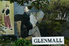 """Mural showing Manet and his paintings """"Le Fifre"""", and """"Portyrait of Emile Zola"""" at entrance to Glenmall in Glen Eden Glen Eden, Eden Book, Nz History, Name Paintings, Manet, City Council, Auckland, Murals, New Zealand"""