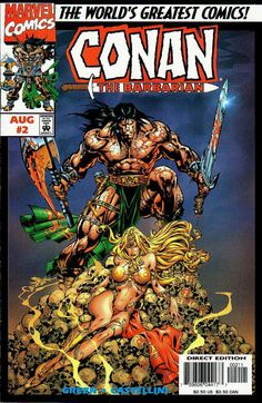 Conan the Barbarian: Stalker of the Woods #2 - Part II (Issue)