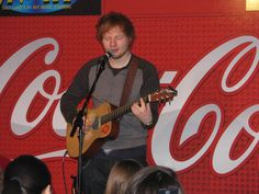 PHOTOS: Ed Sheeran Performs In The Coca-Cola Lounge - 97.1 ZHT