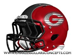 This is Bulldogs, but would be cool as Packers as well with the flag in the G Football Helmet Design, Football Heads, College Football Helmets, Dog Football, Football Uniforms, Georgia Bulldog Shoes, Georgia Bulldog Mascot, Georgia Bulldogs Football, Nfl