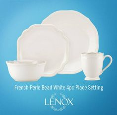 From dinnerware and serveware to gifts and décor for any occasion, Lenox has everything you need to celebrate the seasons. Lenox French Perle, Bridal Registry, Serveware, Place Settings, Dinnerware, Beads, Gifts, Decor, Dinner Ware