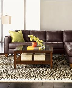 Milano sectional from Macyu0027s. $1999. Leather CouchesLeather ... : macys leather sectional sofa - Sectionals, Sofas & Couches