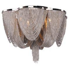 Kourtney Flush Mount - Deco Glamour on Joss & Main