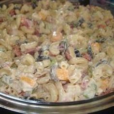 Dunkley's Famous Macaroni Salad on BigOven: The greatest macaroni salad you will ever try.  Although it does take a while to make, it is well worth the effort.