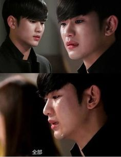My Love From Another Stars | Kim Soo Hyun as Do Min Joon | He's beautiful even when he's crying.