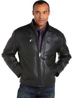 Outerwear - Marc New York Black Leather Jacket