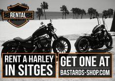 Ahora puedes disfrutar de Sitges montado en una HD. Now! You can enjoy more Sitges riding a HD.