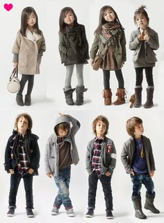 Rain Pixie: omg these kids' outfits are super cute