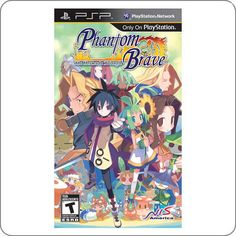 PSP Phantom Brave Heroes R$89.90