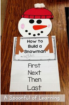 A Spoonful of Learning: Winter Fun! - A Spoonful of Learning: Winter Fun! Kindergarten Literacy, Kindergarten Activities, Writing Activities, Winter Activities, Winter Art Kindergarten, Christmas Activities, Writing Ideas, Winter Fun, Winter Theme