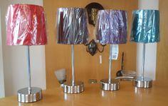 Quebec Touch table lamps in a range of colours Touch Table Lamps, Lighting Showroom, Quebec, Lighting Design, Range, Colours, Unique, Home Decor, Light Design