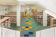 Mudgee Library, NSW. Shelving by Raeco Library Solutions. www.raeco.com.au