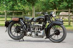 AJS Vintage Motorcycle