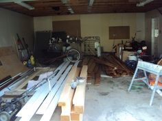 The garage is getting quite ful.