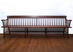 Extra Wide Antique Deacon's Bench
