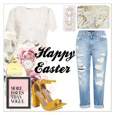 """""""Easter"""" by jjallstar ❤ liked on Polyvore featuring Glamorous, Marc Jacobs, Oasis, Casetify, Steve Madden, Roberto Coin, Genetic Denim, Americanflat and Skinnydip"""