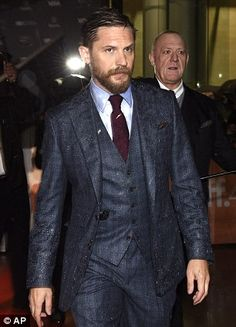 "Tom Hardy attending the ""Legend"" premiere during the Toronto International Film Festival Tom Hardy, Gorgeous Men, Beautiful People, Hello Gorgeous, Toronto Film Festival, Thing 1, Tumblr, Outfit, Sexy Men"