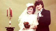 Zenon Martyniuk z żoną Danutą, ślub: 4 luty 1989 Just Married, Poland, Celebs, Weddings, Vintage, Wedding Dresses, Fashion, History, Celebrities