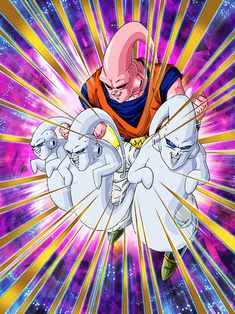 "[Eradicator of Hope] Majin Buu (Ultimate Gohan) ""What's wrong?say goodbye. Dragon Ball Z, Buu Dbz, Majin Boo, Tokyo Ghoul, Otaku, Anime, Manga, Wallpaper, Cards"
