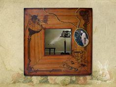 TUTORIAL------Зеркало. Вживление распечатки.МК. Обсуждение на LiveInternet - Российский Сервис Онлайн-ДневниковTUTORIAL