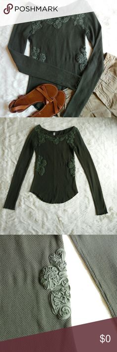 Free People Soutache Thermal EUC Free People Tops
