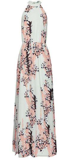 Reiss Arleta Floral Print Maxi Dress