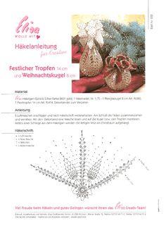 Fensterdeko häkeln weihnachten  crochet, boule de noel | vánoční háčkování | Pinterest | Häkeln ...