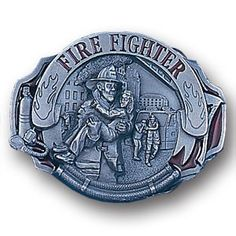"Checkout our #LicensedGear products FREE SHIPPING + 10% OFF Coupon Code ""Official"" Fire Fighter   Enameled Belt Buckle - Officially licensed Military, Patriotic & Firefighter product Fully cast, metal buckle Bail fits belts up to 2 inches wide Exceptional detail with an enameled finish Firefighter - Price: $21.00. Buy now at https://officiallylicensedgear.com/fire-fighter-enameled-belt-buckle-ag88e"