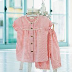 4197f7b13 Powell Craft Girls Nightdress - 100% cotton - Ballerina design ...