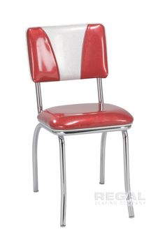 """For your Retro Kitchen >>> Diner Chair with """"V"""" Design"""