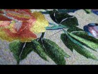 (236) Gallery.ru / Вышивка гладью .Фон / embroidery - объемная вышивка нитями - semynova