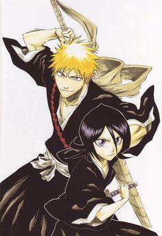 Bleach Ichigo x Rukia, my favorite couple in Bleach ^^