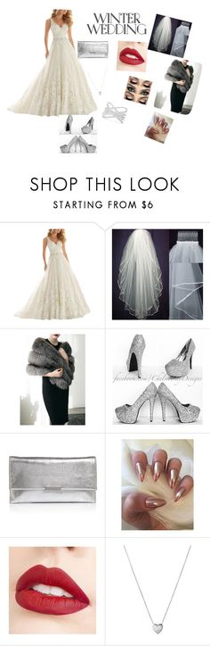"""""""Wedding"""" by amra-memic ❤ liked on Polyvore featuring Loeffler Randall, Jouer, Links of London and Effy Jewelry"""
