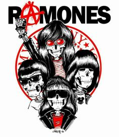 Arte Punk, Punk Art, Punk Poster, Rock Band Posters, Hardcore, Joey Ramone, Band Logos, Metal Artwork, Concert Posters