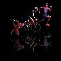 Triathelete: a person who doesn't understand that one sport is hard enough 🏊🚴🏃 Chase Your Dreams, Cycling, Swimming, Neon, Bike, Photoshoot, Running, Workout, Photo And Video