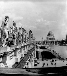 Chicago Casino Roof - Columbian Exposition 1893 by FreidmanFineArt
