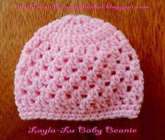sunshine and a sewing basket: Layla-Lu beanie