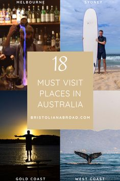 Australia is one of the most diverse & beautiful countries on earth. Here are 18 places not to be missed! Kakadu National Park, National Parks, Famous Lighthouses, Best Graffiti, Fraser Island, Rock Pools, Adventure Activities, Paradise Island, Great Barrier Reef