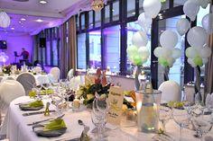 Festlicher Raum im HKK Hotel Wernigerode. Hochzeit - Deko -
