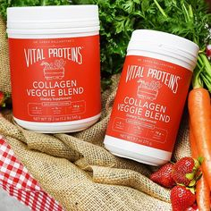 Our Collagen Veggie Blend is back! Still made with our Collagen Peptides, our Collagen Veggie Blend now also has organic squash! Now with two servings of veggies, 1/2 serving of fruit and 10 g of collagen, it can still be blended into smoothies or enjoyed in water on its own! Click the link in our bio to shop. #Regram via @vitalproteins #StayVital Collagen Protein, Whey Protein, Vital Proteins, Beverages, Drinks, Squash, Smoothies, Veggies, Organic