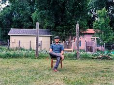 When he's not on tour, Gregory Alan Isakov can be found tending heirloom vegetables on a farm in Colorado.