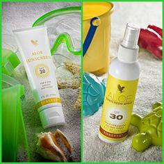 """Con questi post vogliamo solo ricordarvi di porre attenzione a particolari prodotti come la #cremasolare """"#Forever #Aloe #Sunscreen"""" a base di, inutile ricordarlo, #aloevera."""