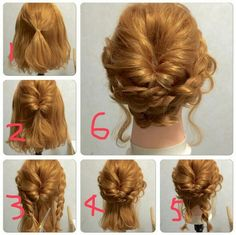 Shoulder Length Hair Updo More Mehr
