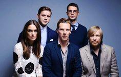 Allen Leech, Matthew Goode, Keira Knightley, Benedict...