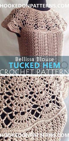 Blouse Crochet Pattern.