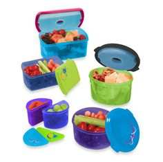 Kid's Lunch Container Set